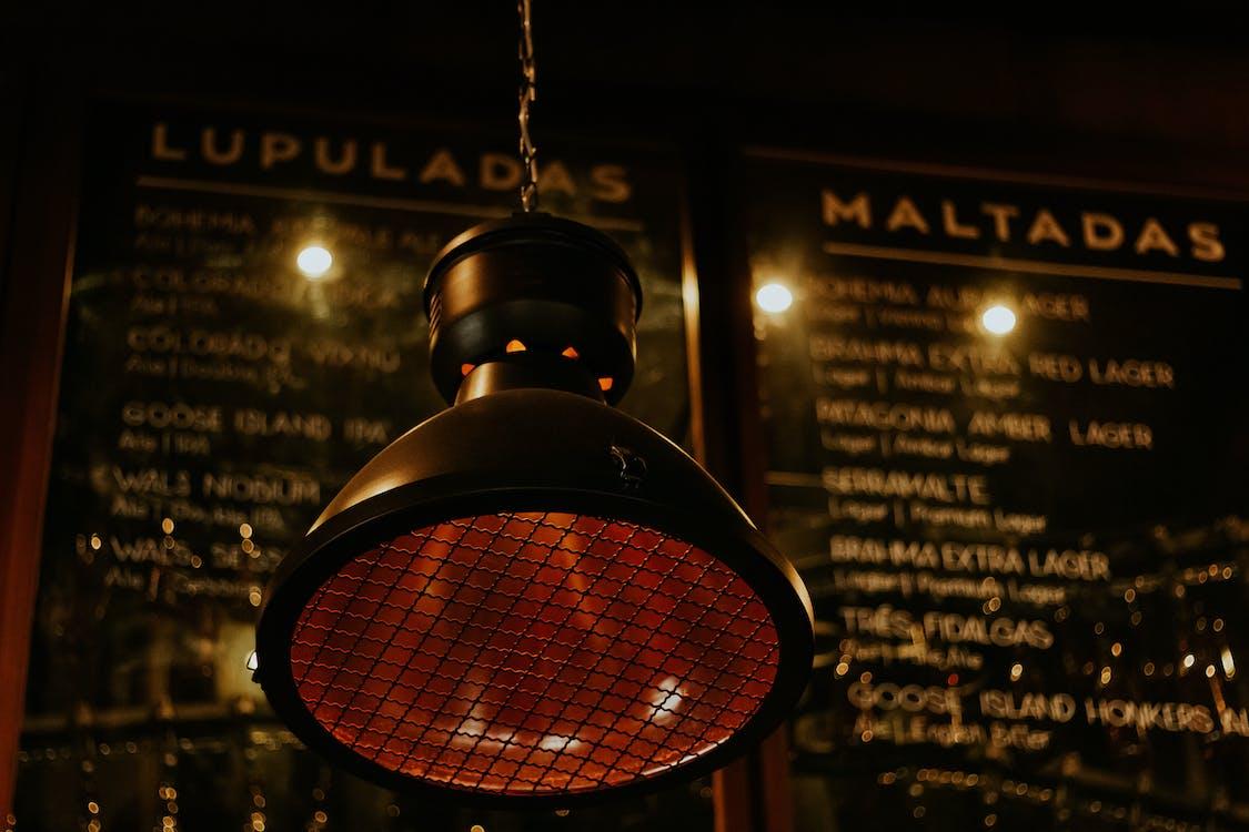 Round Black Pendant Lamp