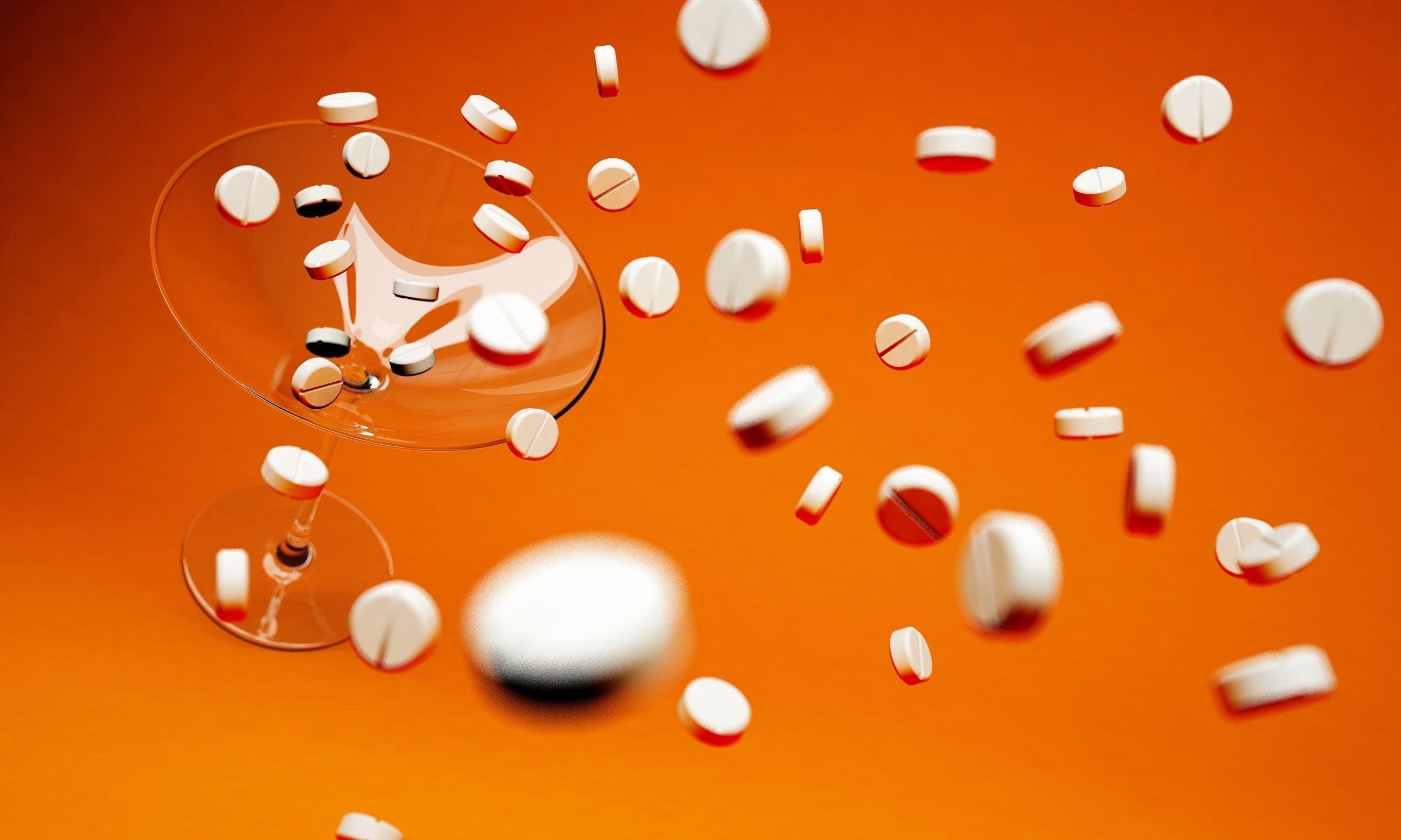 Medicine Tablets Lot