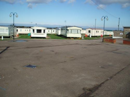 Free stock photo of caravan, caravan site, caravans