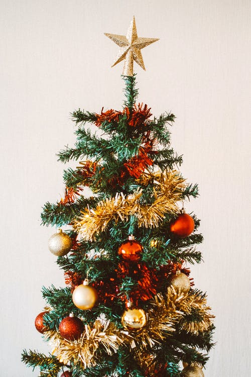 Photo Of Christmas Tree With Decorations