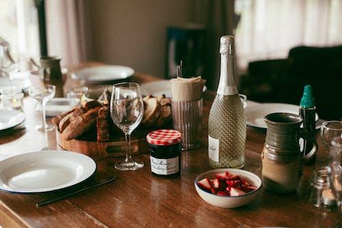 Základová fotografie zdarma na téma bílá cava, bílé víno, bobule, brunch