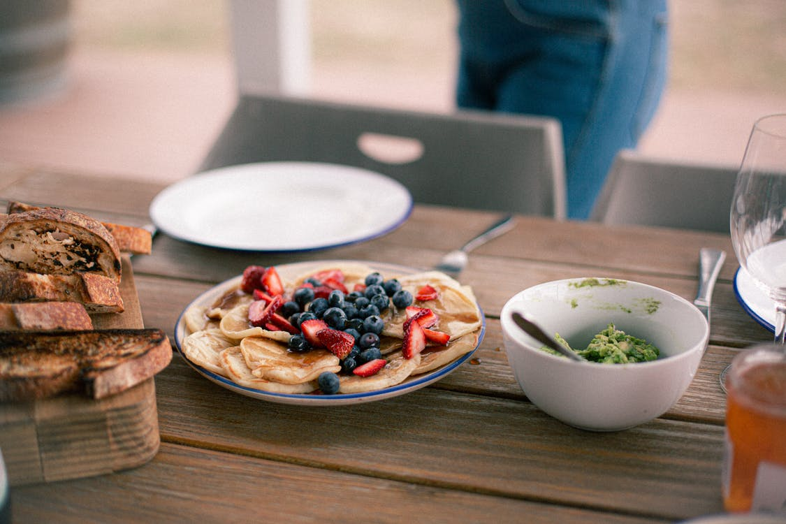Photo Of Foods On Top Of Wooden Table