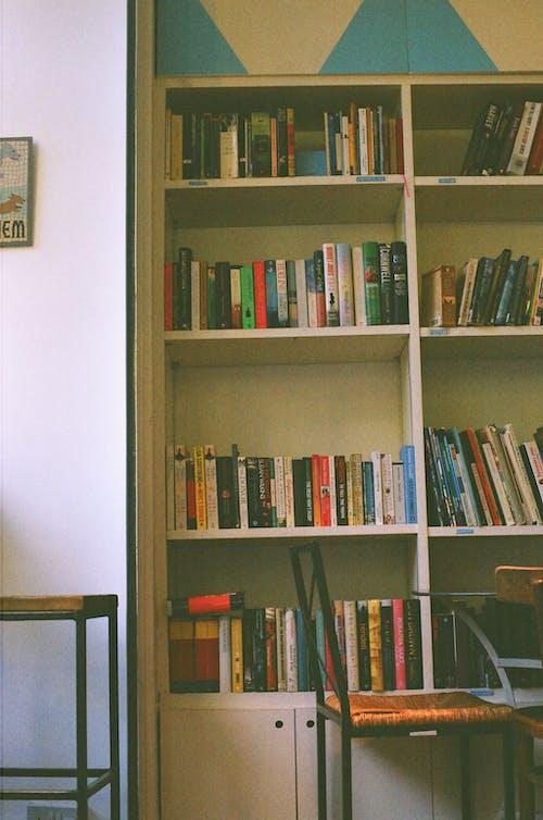 Imagine de stoc gratuită din 35mm, bibliotecă, cameră de studiu, carte