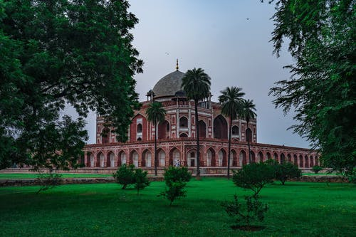 Free stock photo of architecture, historic, humayun's tomb, india