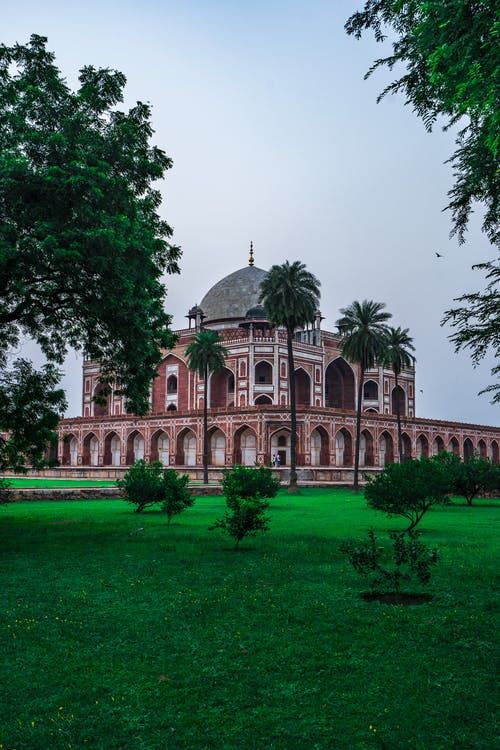 Free stock photo of architect, Historic Building, humayun's tomb, india