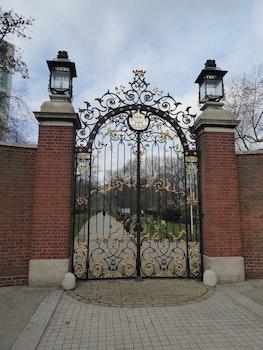 Free stock photo of railings, iron, gates