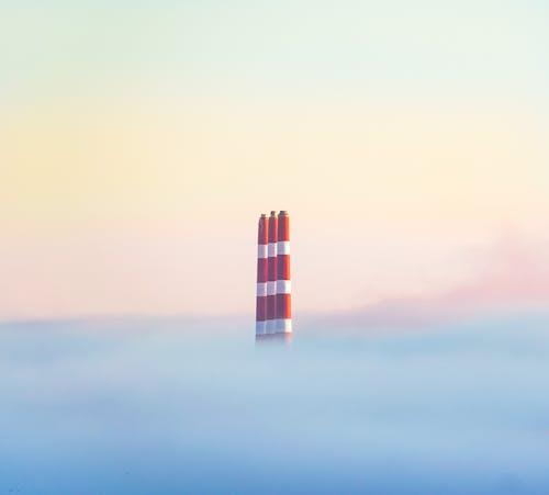 Kostenloses Stock Foto zu himmel, nebel, neblig