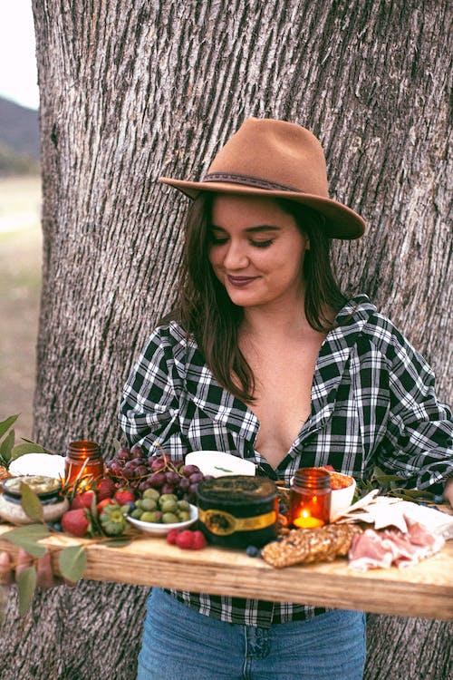 乳酪, 健康, 廚師, 微笑的女人 的 免费素材照片