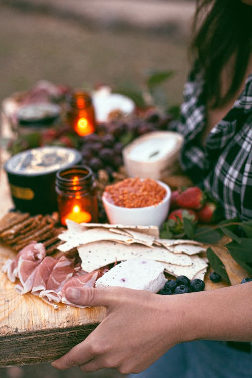 Free stock photo of appetizer, appetizers, cheese