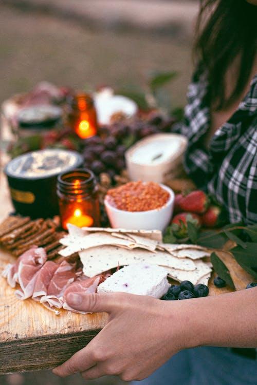 Ingyenes stockfotó asztalterítékek, élelmiszer táblázat, előétel, Előételek témában