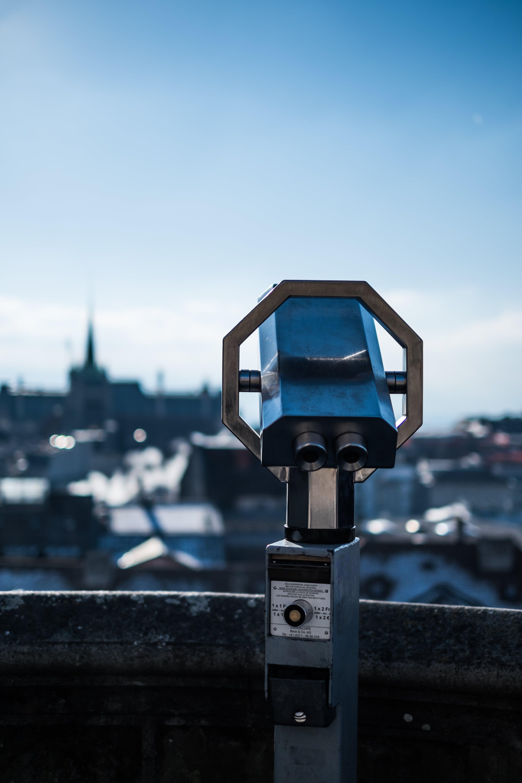 Základová fotografie zdarma na téma dalekohled, město, ulice