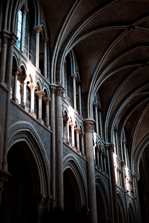 Základová fotografie zdarma na téma církev, lehký, zeď