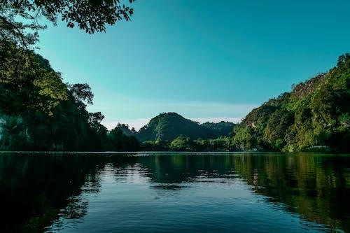 山岳, 風景の無料の写真素材