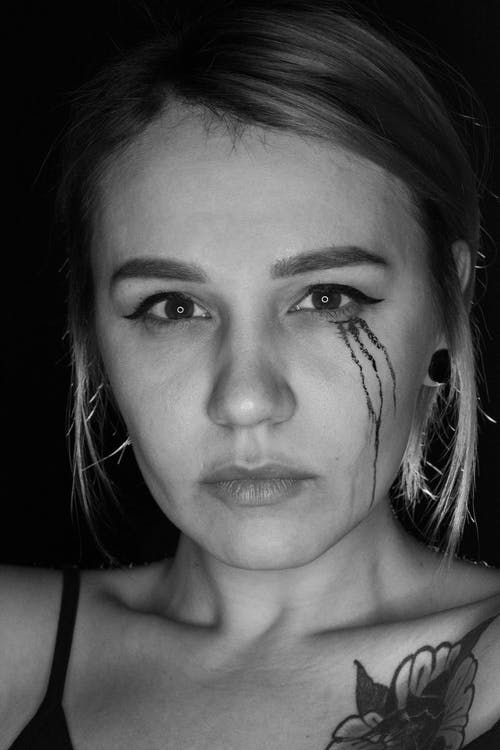 Gratis stockfoto met knap meisje, meisje, portret, tatoeage