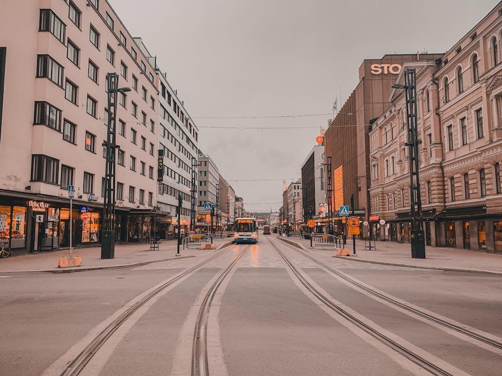 allenare, architettura, centro città