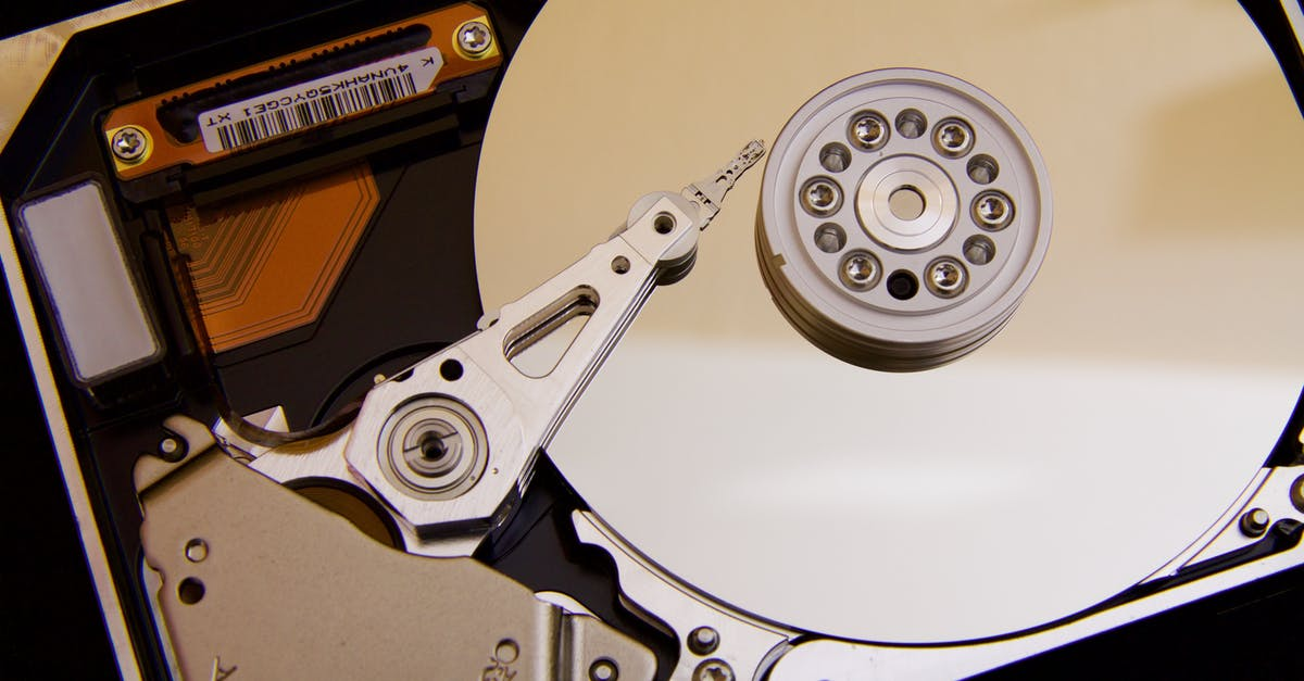 how to change hard drive personal identifier