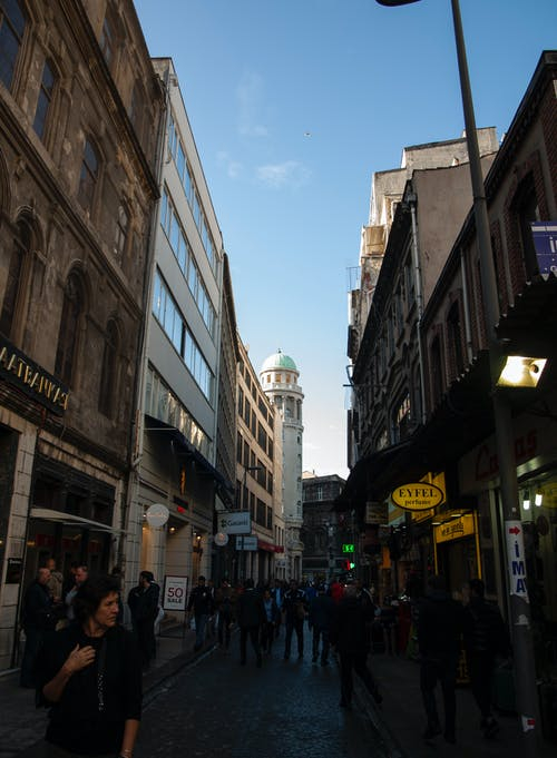 Free stock photo of busy street, Istanbul, tower