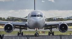 flight, airport, runway