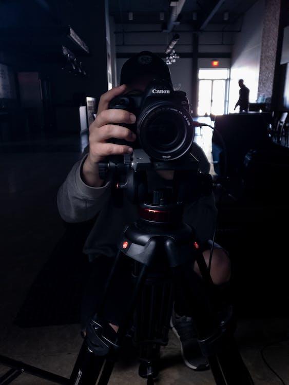 Kostenloses Stock Foto zu canon, kamera, launisch