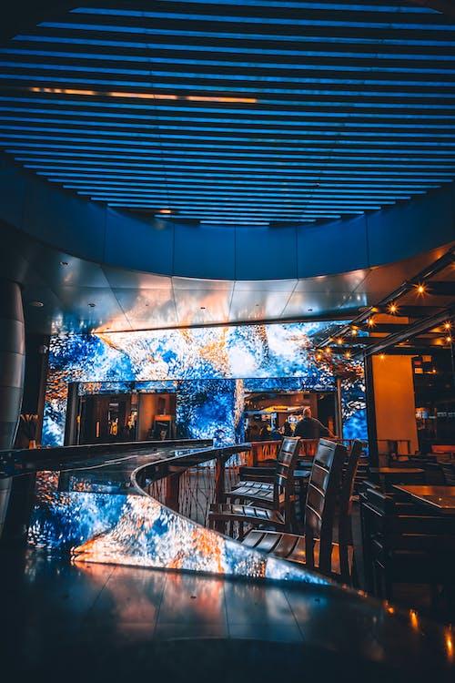 architettura, bancone, bar