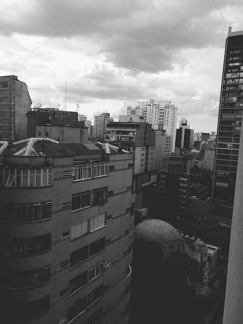 Gratis lagerfoto af by, byens lys, luftfart