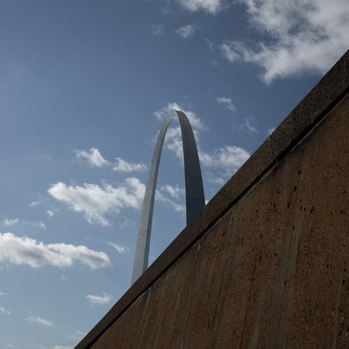 圣路易斯, 城市, 天空, 建筑结构 的 免费素材照片