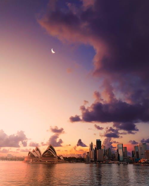 Ingyenes stockfotó alkonypír, city_skyline, éjszaka témában