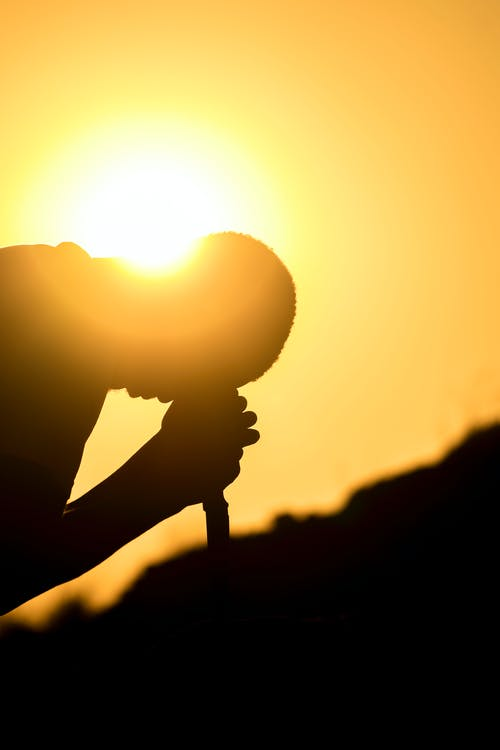 Darmowe zdjęcie z galerii z osoba, profil, promień słońca, światło słoneczne