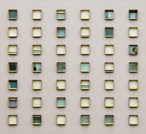 Gratis lagerfoto af arkitektur, bygning, facade, mønster