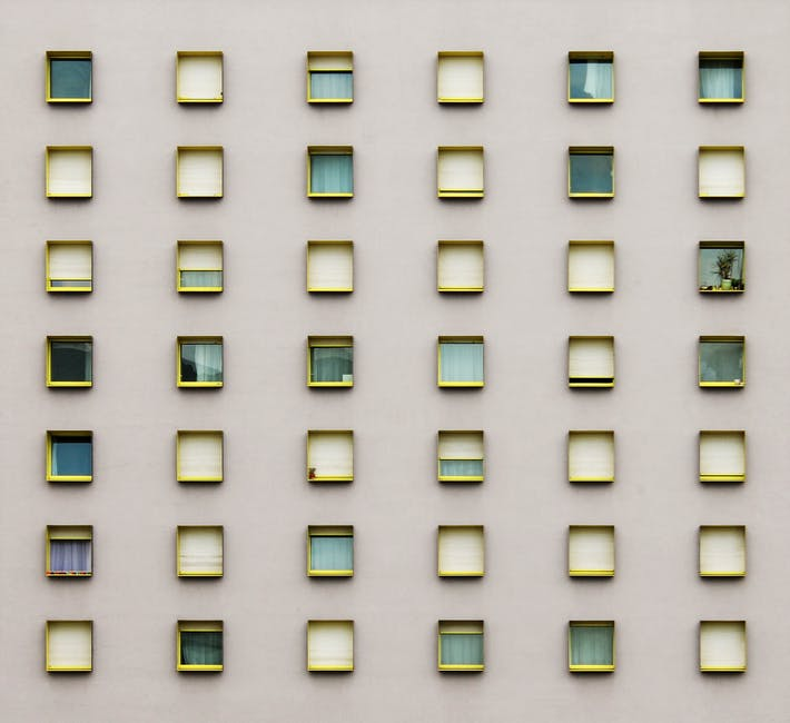 Building pattern wall architecture
