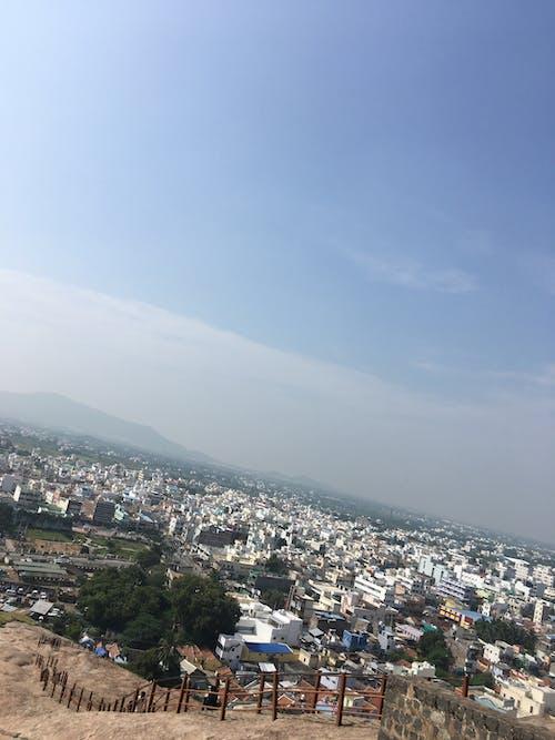 Free stock photo of city view, namakkal, rock