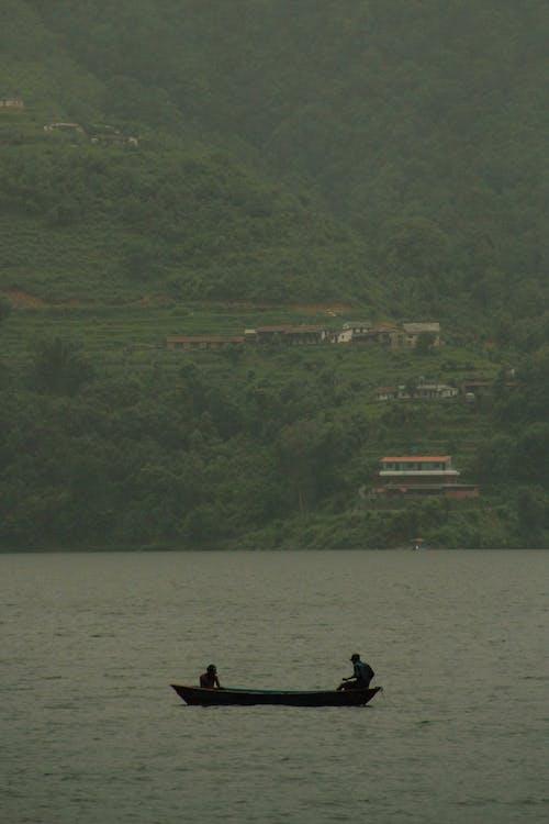 Free stock photo of boat, nepal, pond