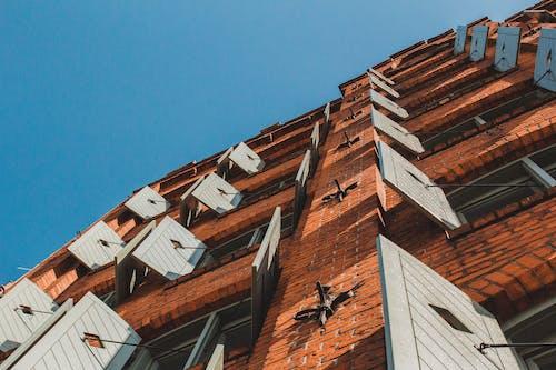 backstein, 建築, 砖建筑, 藍天 的 免费素材照片