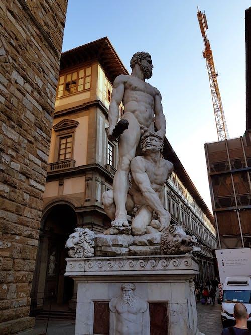 Free stock photo of historic building, minimalistic, monumental sculpture