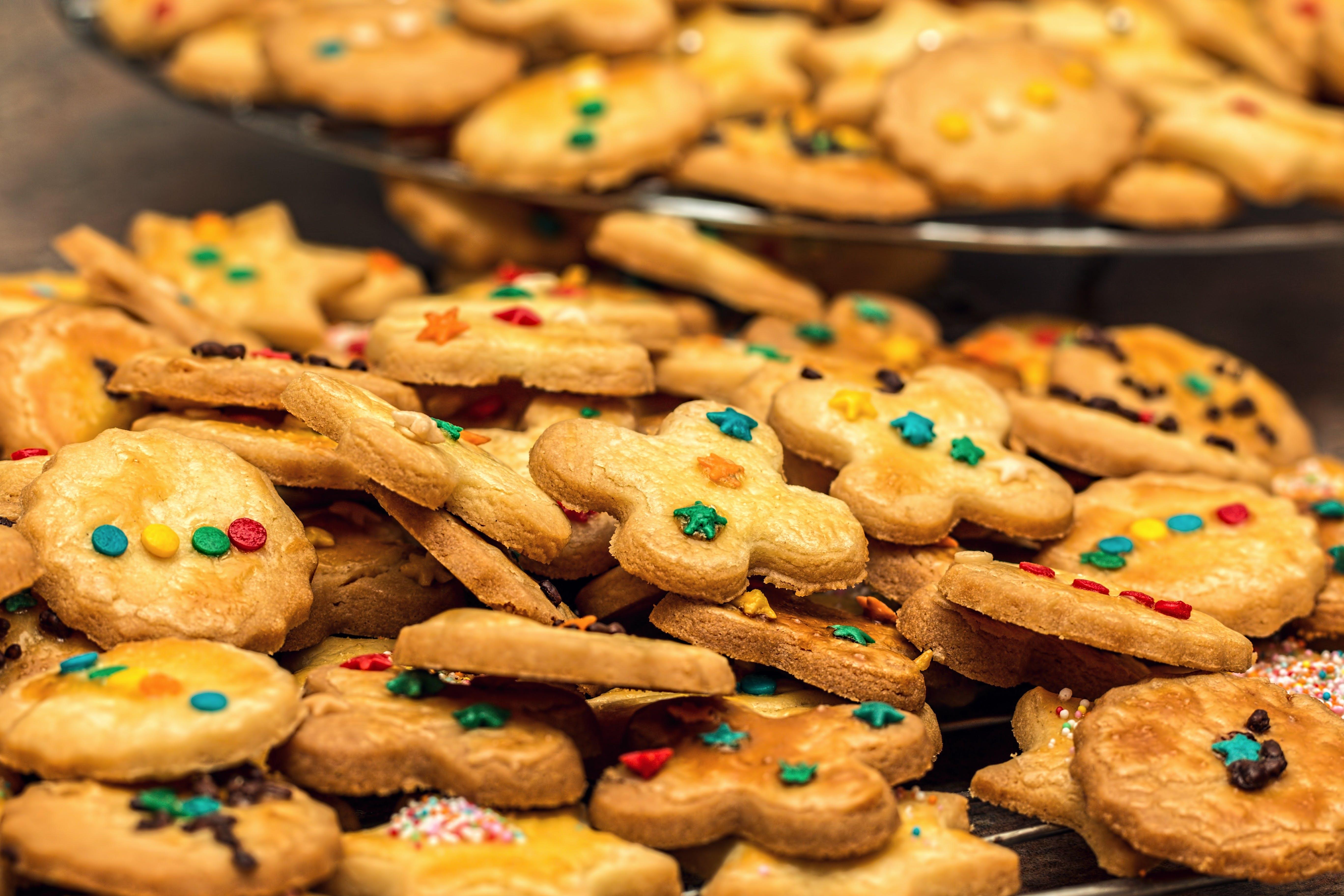 Immagine gratuita di biscotti, cibo, dolci, pasticcino