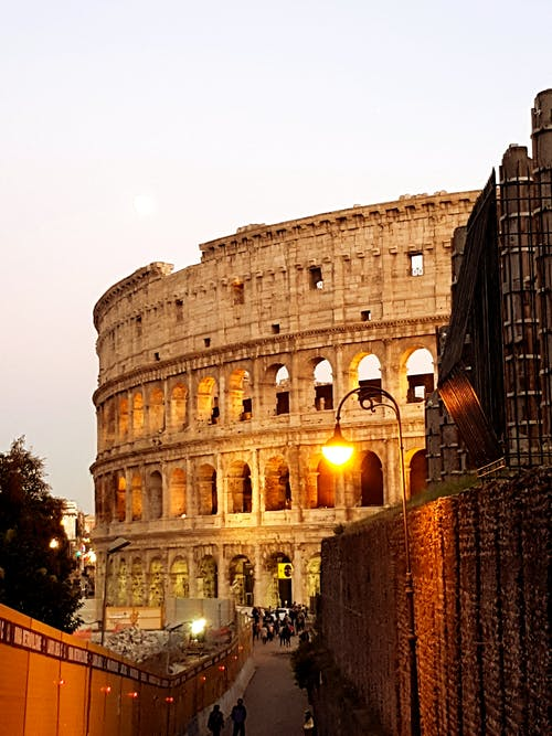 Free stock photo of architectural design, colosseum, italy
