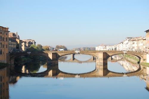 Free stock photo of blue sky, bridge, italy