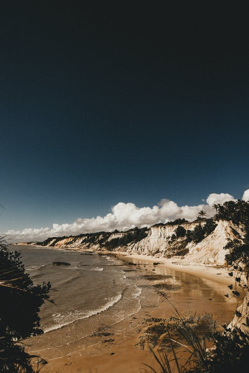 água, ao ar livre, beira-mar