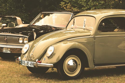 Free stock photo of automobile, beetle, classic cars, old car