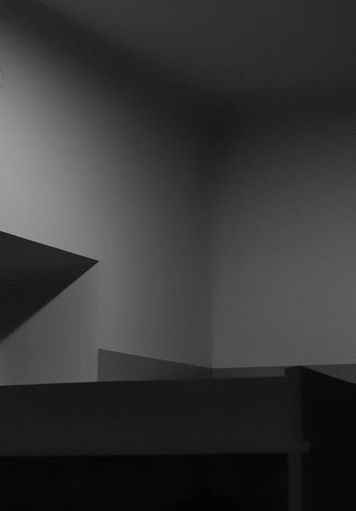 Základová fotografie zdarma na téma abstraktní, architektura, černobílý, design