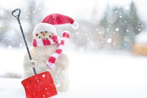 Kostenloses Stock Foto zu jahreszeit, kalt, schaufel, schnee