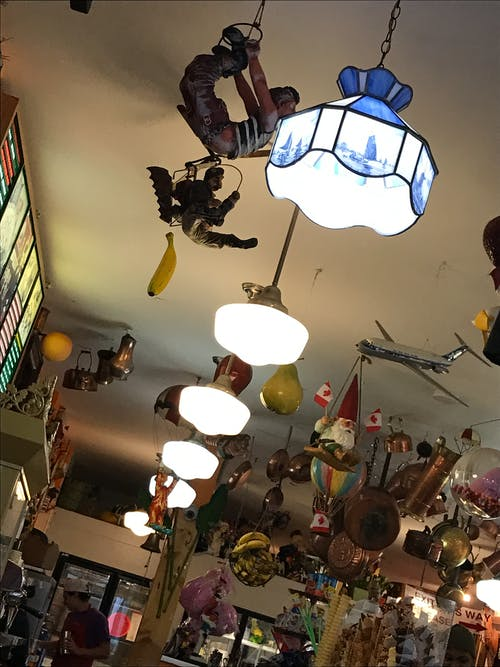 Free stock photo of canada, ceiling lamp, ice cream