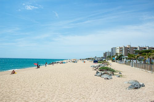 Free stock photo of beach, blue, ocean