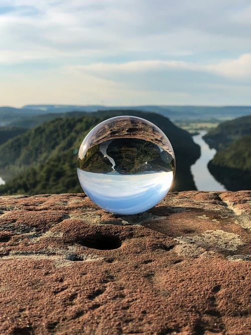 Free stock photo of beatiful landscape, germany, glass, glass ball