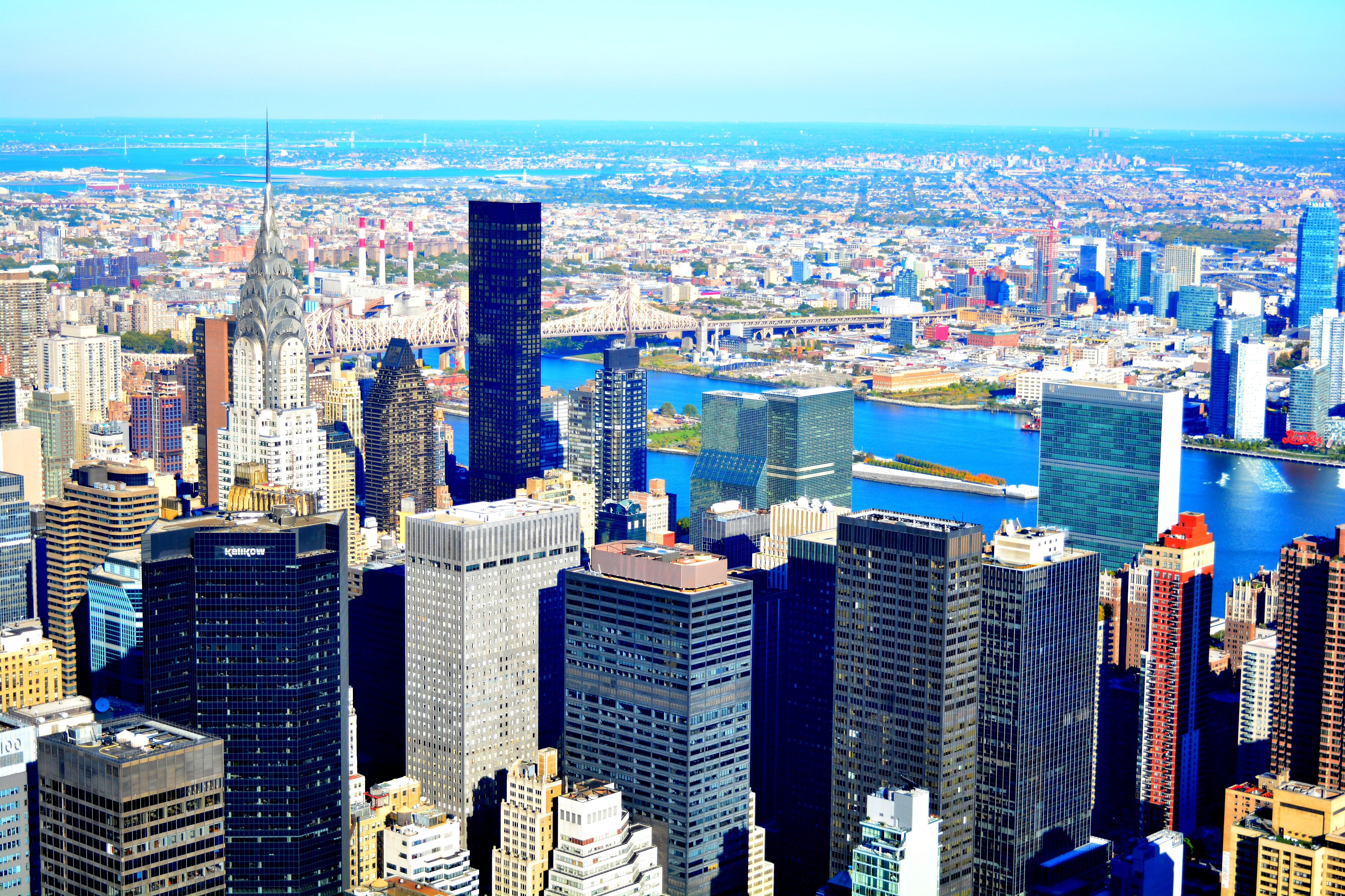 Free stock photo of cityscape, empire state building, tower viewer