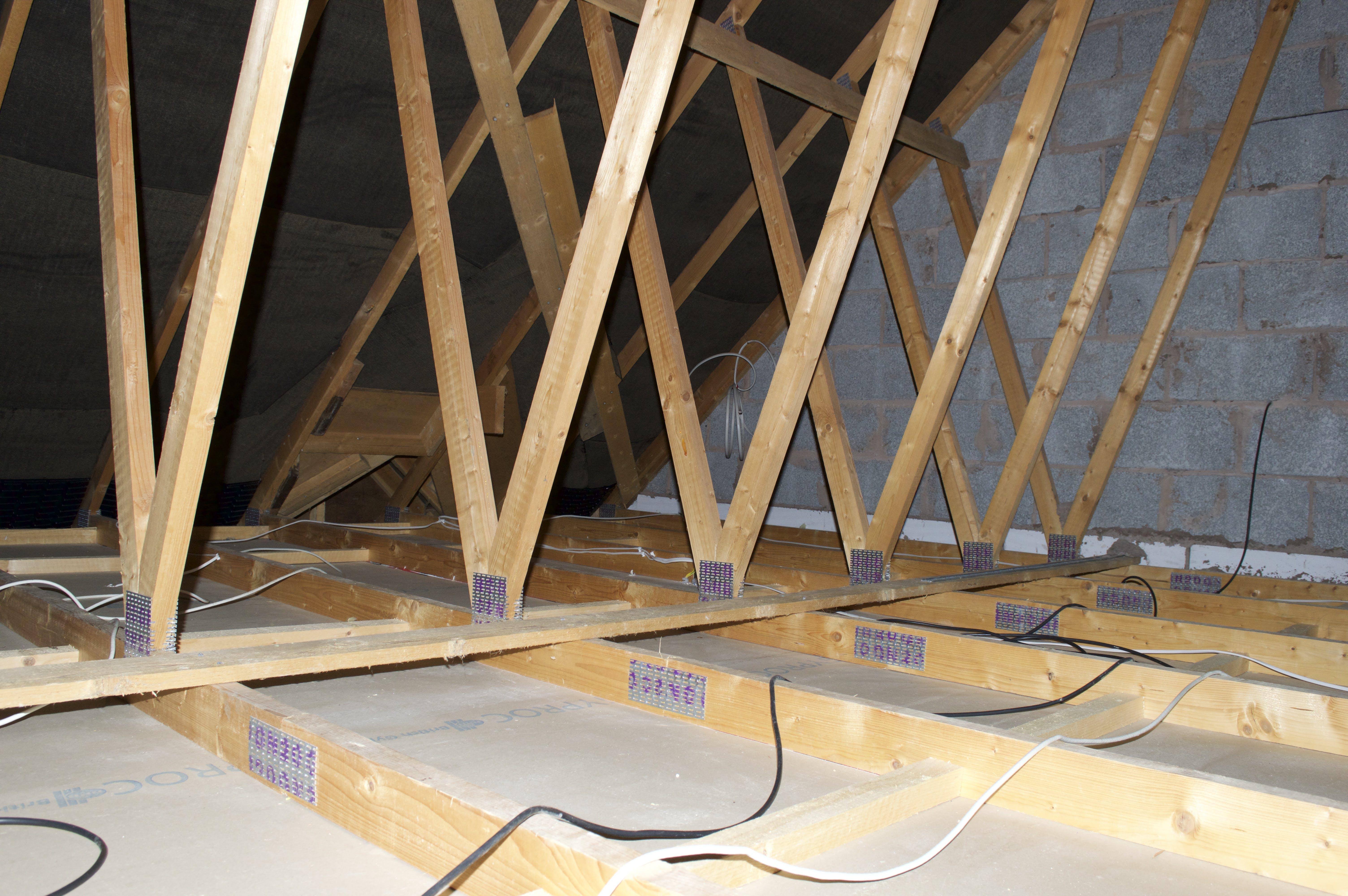 Free stock photo of attic, clearance, insulation, loft