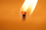 night, warm, candle