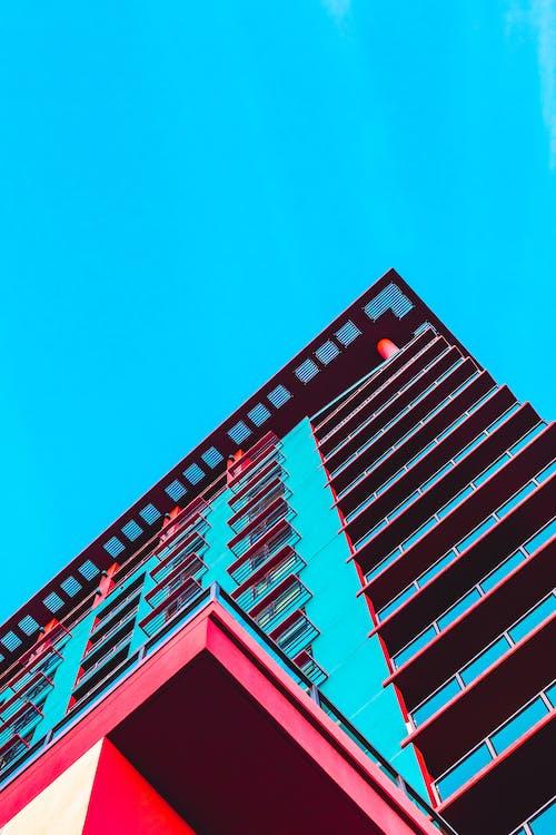 Imagine de stoc gratuită din arizona, bloc de apartamente, cer albastru, clădire