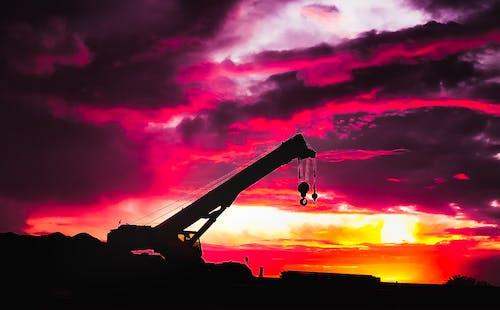 Imagine de stoc gratuită din #mobilechallenge, albastru și roșu, apus de soare, cer cu nori