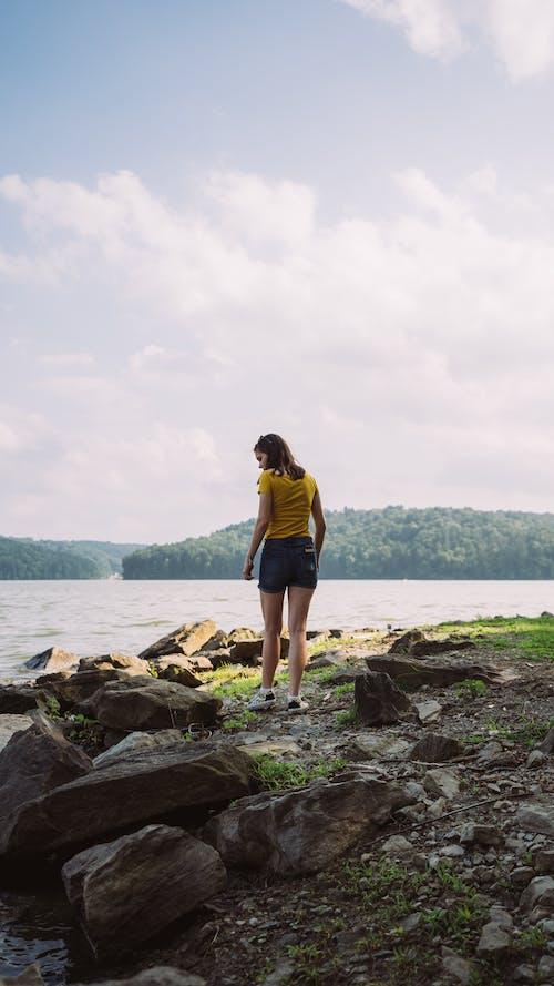 Foto profissional grátis de água, ao ar livre, atraente, céu
